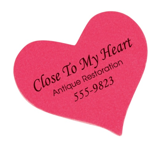 Heart-Shaped Emery Board